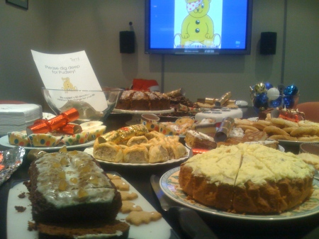 Pudsey cakes
